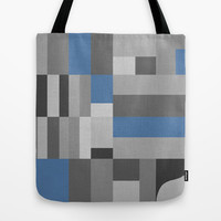 White Rock Blue Tote Bag by Project M