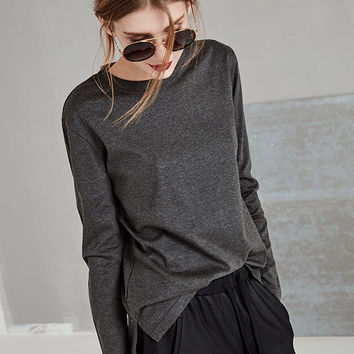 Long Sleeved Cotton Shirt