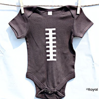 Football Bodysuit, Football Baby Shower, Sports