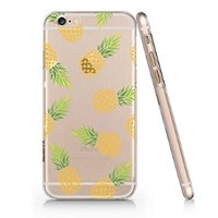 Pineapple Pattern Iphone 6 case, Iphone 6 Case Slim White Cover Skin