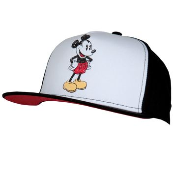 Mickey Mouse - Standing Adjustable Cap