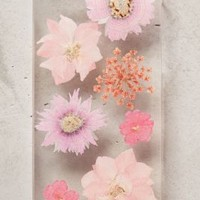 Pressed Larkspur iPhone 5 Case by Anthropologie Pink One Size Tech Essentials
