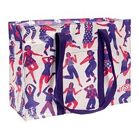 Dance Shoulder Tote in Recycled Material