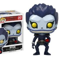 Death Note RYUK#217 L(WITH CAKE)#219 Funko Pop Figure Toy Decorative Model Doll