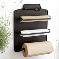 Cucina Wall-Mount Kitchen Roll Organizer | Pottery Barn