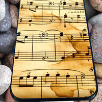 Music Note for iPhone 4/4s/5/5S/5C/6, Samsung S3/S4/S5 Unique Case *95*