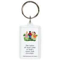 Childhood - Dark Chocolate Keychain
