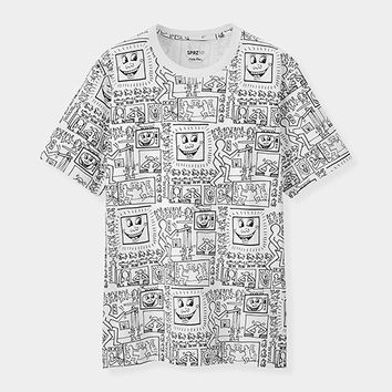 UNIQLO Keith Haring Black & White T-Shirt | MoMA