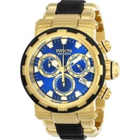 Invicta Men's 23979 Specialty Quartz Chronograph Blue Dial Watch