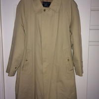 Sale!! Vintage BURBERRYS Trench Coat BURBERRY winter jacket coats