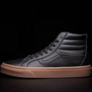 CREYONS Vans SK8-HI Leather Flats Sneakers Sport Shoes