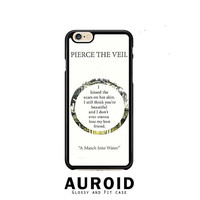 Pierce The Veil Song Lyrics iPhone 6 Plus Case Auroid