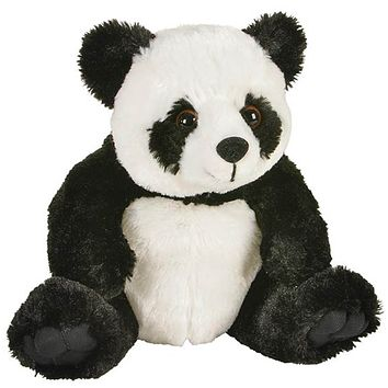 8 Inch Panda Bear Stuffed Animal Plush Floppy Zoo Species Collection