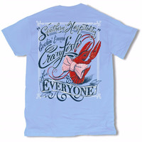 Sweet Thing Southern Hospitality Crawfish for Everyone Girlie Bright T-Shirt