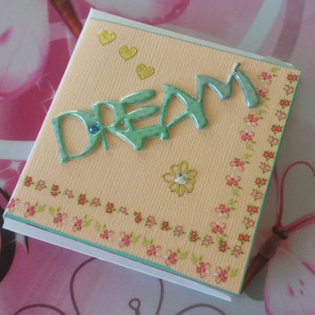 Birthday Card Dream - Handmade Cards - Any occasion cards - Made in Australia - unique cards  - Mother - Mini Cards
