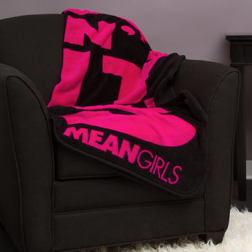 Mean Girls You Can't Sit With Us Throw Blanket