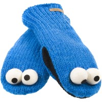 Sesame Street - Cookie Monster Head Knit Mittens