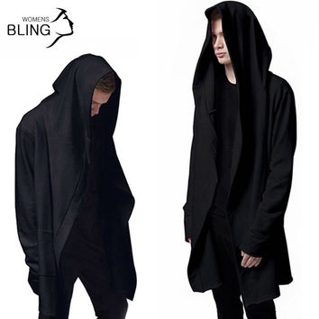 Hooded Sweatshirts With Black Gown Best Quality long Sleeves Cloak