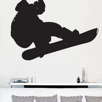 Vinyl Wall Art Decal Snowboard Extreme Sports #148