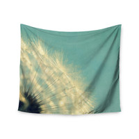 "Robin Dickinson ""Just Dandy"" Blue White Wall Tapestry"