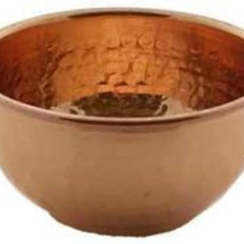 "2"" copper Offering Bowl"