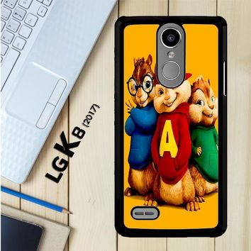 Alvin And The Chipmunks Character V 2074 LG K8 2017 / LG Aristo / LG Risio 2 / LG Fortune / LG Phoenix 3 Case