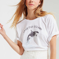 Future State Save The Whales Tee | Urban Outfitters