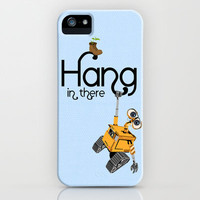 Pixar/Disney Wall-e Hang in There iPhone Case by Teacuppiranha | Society6