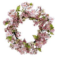 24in Cherry Blossom Wreath