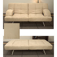 Chai Microsuede Sofa Bed | Overstock.com