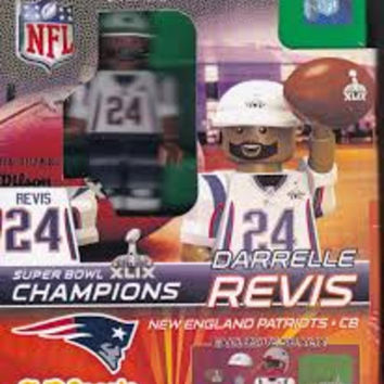 OYO Super Bowl 49 Champions New England Patriots Darrelle Revis Limited Edition Minifigure