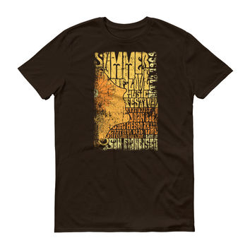 Summer of Love Poster Psychedelic Tee