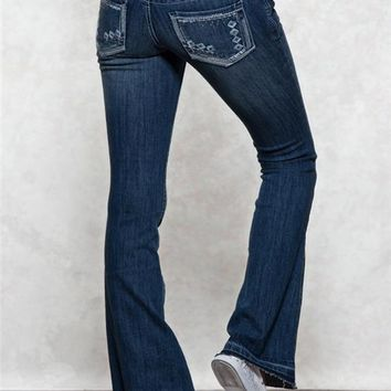 Harlow Bell Outline Premium Jeans