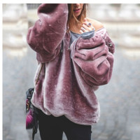 Women Fashion Autumn O Neck Long Sleeve Sweaters Casual Pullover Sweaters For Women Tops