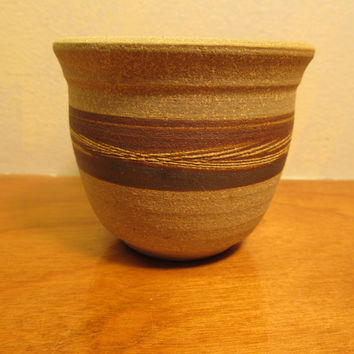Southwest Style Art Pottery Studio Made Cup or Bowl