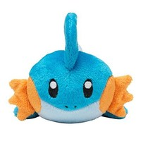 Pokemon Center Original Kuttari Stuffed Toy Mudkip From Japan