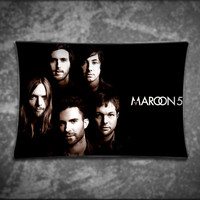 Unique Pillow Cover, Adam Levine Maroon 5 Band, Suitable For Any Age, Soft, Comfortable, Stylish