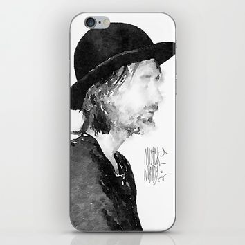 Thom Yorke Watercolor portrait by MrNobody iPhone & iPod Skin by Mrnobody