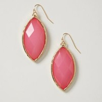 Candied Almond Drops by Anthropologie Pink One Size Earrings