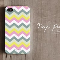 Apple iphone case for iphone iphone 4 iphone 4s iphone 3Gs : Aztec Tribal Chevron pattern