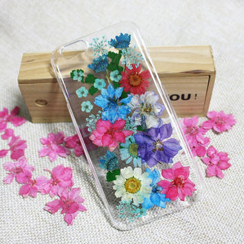 Multicolor flower Galaxy S6 Edge Plus Case,Samsung Note 5 case,Flower Galaxy S6 case,Resin flower Samsung note 4/3/2,Galaxy S3/S4/S5 case