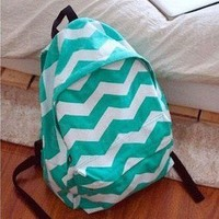 jullygo — [Grlhx120065]Cool Triangle Fashion Backpack Bag