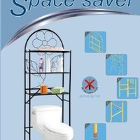 American Dream Bathroom Space Saver - No Tool Installation (White)