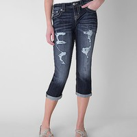 Miss Me Mid-Rise Curvy Cropped Stretch Jean