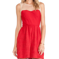 TFNC London Sapphire Mini Dress in Red