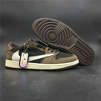 "Travis Scott x Air Jordan 1 Low OG SP ""Dark Mocha"""
