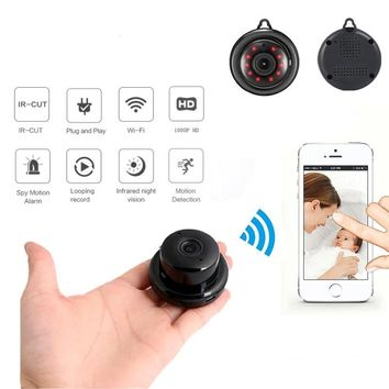 Home Security Mini WIFI 1080P IP Wireless Infrared Night Vision Motion Spy Camera