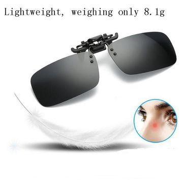 LumiParty Fishing Eyewear Clip On Style Sunglasses UV400 Polarized Fishing Eyewear Day Time / Night Vision Glasses