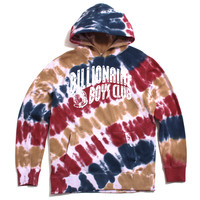 BB Free Arch Pullover Hoody White / Tie-Dye