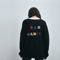 Lazy Oaf Bad Habits Cardigan - Everything - Categories - Womens